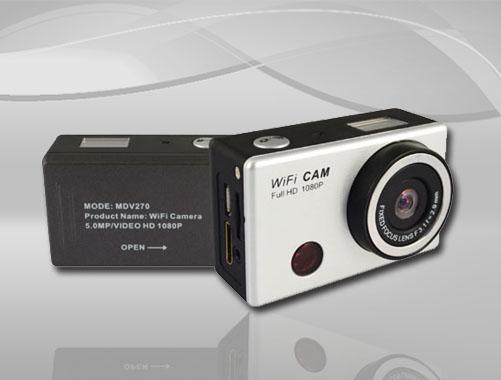 防水数码相机,运动型,水缸放置,带WIFI(MDV270-5)